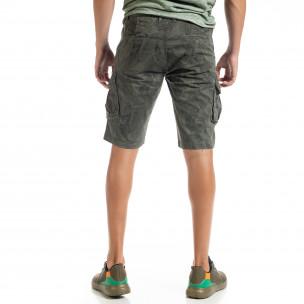 Ανδρικό πράσινο βερμούδα Forest camouflage 2