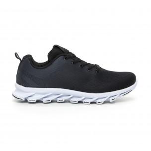 Ανδρικά μαύρα αθλητικά παπούτσια Blade