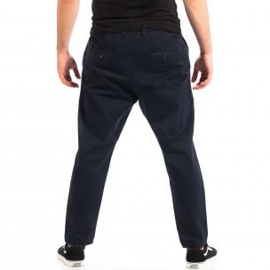 Ανδρικό μπλε Cropped παντελόνι RESERVED  2