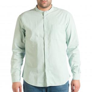 Ανδρικό πράσινο πουκάμισο RESERVED RESERVED
