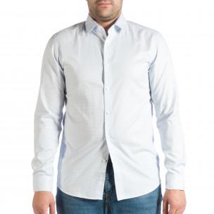 Ανδρικό γαλάζιο πουκάμισο RESERVED RESERVED