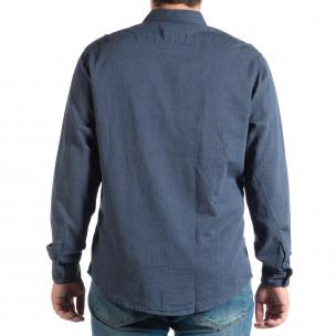 Ανδρικό γαλάζιο πουκάμισο RESERVED  2