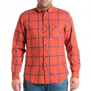 Ανδρικό κόκκινο πουκάμισο RESERVED