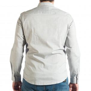 Ανδρικό γκρι πουκάμισο RESERVED  2