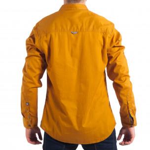 Ανδρικό camel πουκάμισο CROPP  2