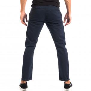 Ανδρικό μπλε Chino παντελόνι CROPP  2