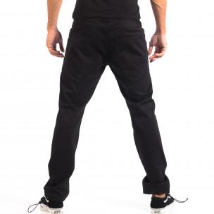 Ανδρικό μαύρο παντελόνι CROPP  2