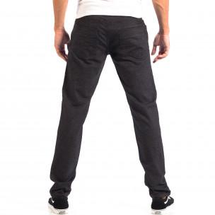 Ανδρικό μαύρο Slim παντελόνι RESERVED 2