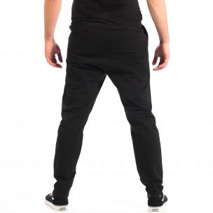 Ανδρικό μαύρο Cropped chino παντελόνι RESERVED  2