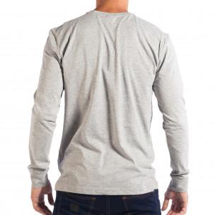 Ανδρική γκρι μπλούζα House UNFOLLOW  2