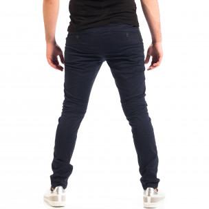Ανδρικό γαλάζιο παντελόνι CROPP 2