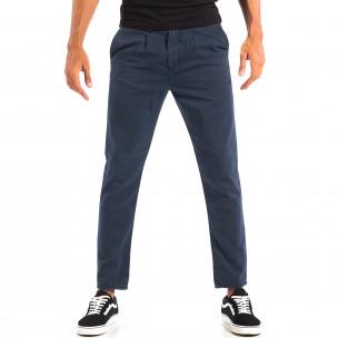 Ανδρικό γαλάζιο παντελόνι RESERVED