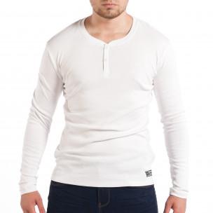 Ανδρική ελαστική λευκή μπλούζα House