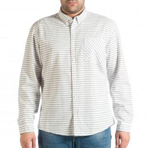 Ανδρικό λευκό πουκάμισο RESERVED