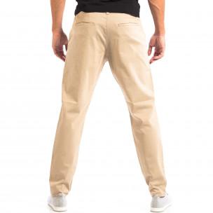 Ανδρικό μπεζ παντελόνι RESERVED 2