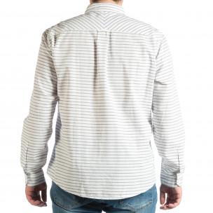 Ανδρικό λευκό πουκάμισο  2