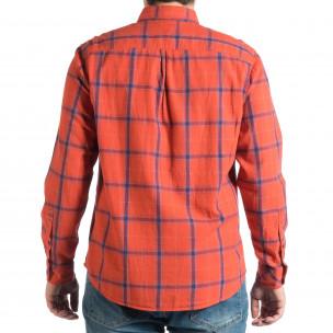 Ανδρικό κόκκινο πουκάμισο RESERVED  2