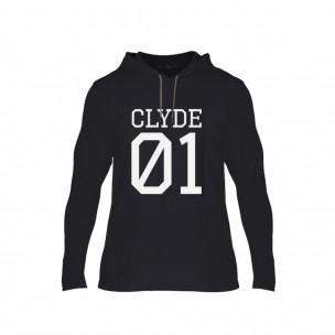 Κοντομάνικη μπλούζα Bonnie 01 & Clyde 01 μαύρο, Μέγεθος L