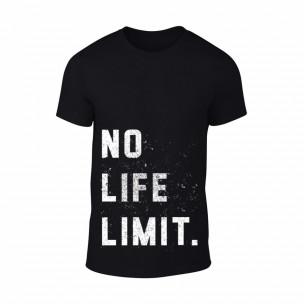 Κοντομάνικη μπλούζα Black White μαύρο Χρώμα Μέγεθος S