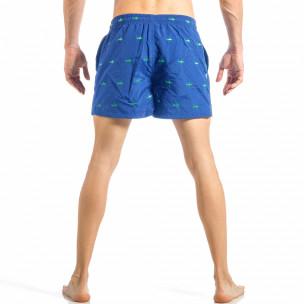 Ανδρικό μπλε μαγιό με καρχαρίες 2