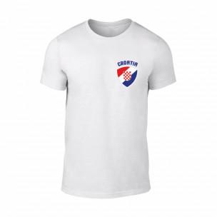 Κοντομάνικη μπλούζα Croatia λευκό Χρώμα Μέγεθος M