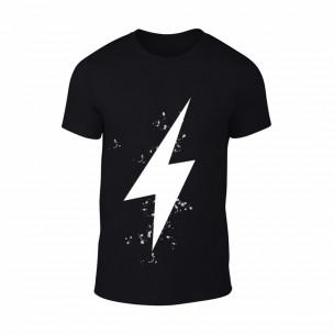 Κοντομάνικη μπλούζα Thunder μαύρο Χρώμα Μέγεθος XXL