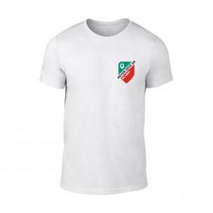 Κοντομάνικη μπλούζα Never Give Up λευκό