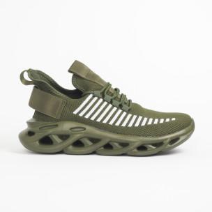 Ανδρικά military πράσινα αθλητικά παπούτσια Rogue   2