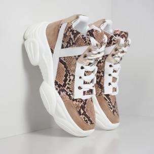 Γυναικεία ψηλά αθλητικά παπούτσια Chunky