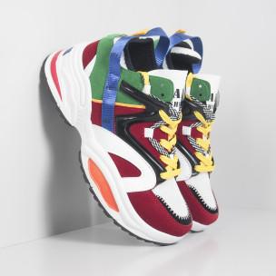 Ανδρικά Chunky πολύχρωμα αθλητικά παπούτσια