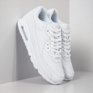 Ανδρικά λευκά αθλητικά παπούτσια Air