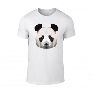 Κοντομάνικη μπλούζα Panda λευκό