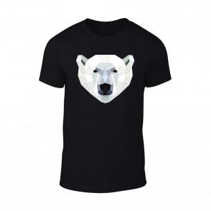 Κοντομάνικη μπλούζα Polar Bear μαύρο