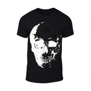 Κοντομάνικη μπλούζα Skull μαύρο