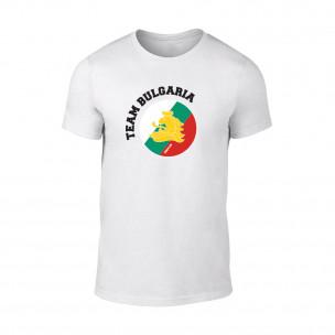 Κοντομάνικη μπλούζα Team Bulgaria λευκό