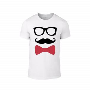 Κοντομάνικη μπλούζα Hipster λευκό Χρώμα Μέγεθος S