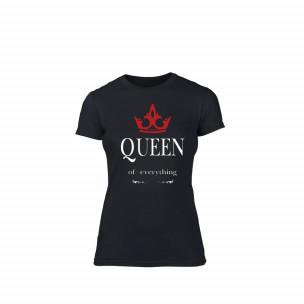 Γυναικεία Μπλούζα Queen μαύρο Χρώμα Μέγεθος M