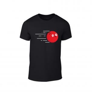 Κοντομάνικη μπλούζα Bowling   μαύρο Χρώμα Μέγεθος S