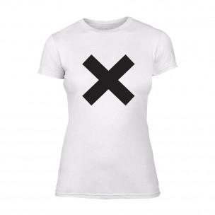 Γυναικεία Μπλούζα X λευκό