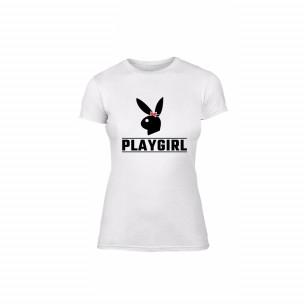 Γυναικεία Μπλούζα Playboy λευκό Χρώμα Μέγεθος S