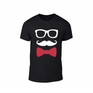 Κοντομάνικη μπλούζα Hipster μαύρο Χρώμα Μέγεθος M