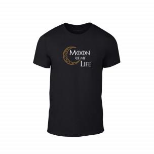 Κοντομάνικη μπλούζα Sun & Moon μαύρο Χρώμα Μέγεθος XXL