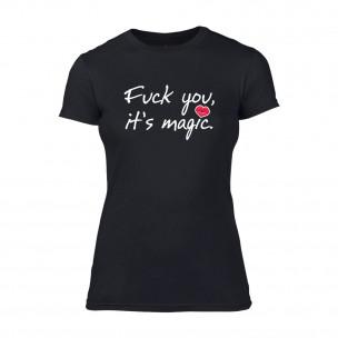 Γυναικεία Μπλούζα It's Magic μαύρο