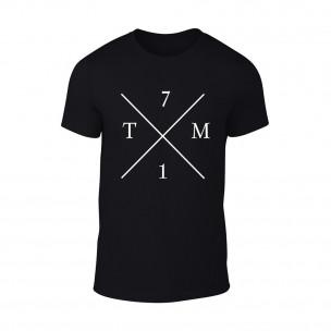 Κοντομάνικη μπλούζα TM71 μαύρο