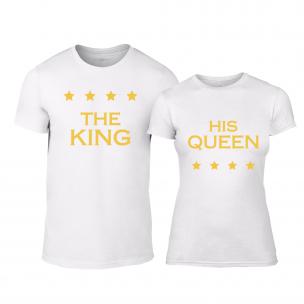 Μπλουζες για ζευγάρια Royal Stars λευκό