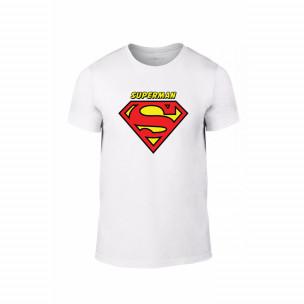 Κοντομάνικη μπλούζα Superman & Supergirl λευκό Χρώμα Μέγεθος XL