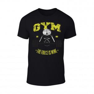 Κοντομάνικη μπλούζα Gym Force μαύρο