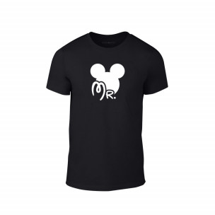 Κοντομάνικη μπλούζα Mr. Mickey μαύρο Χρώμα Μέγεθος L