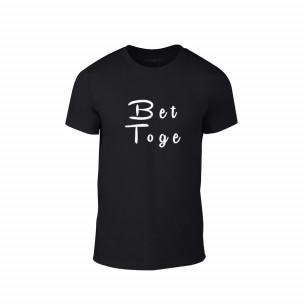 Κοντομάνικη μπλούζα Better Together μαύρο Χρώμα Μέγεθος XL