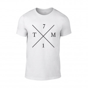 Κοντομάνικη μπλούζα TM71 λευκό